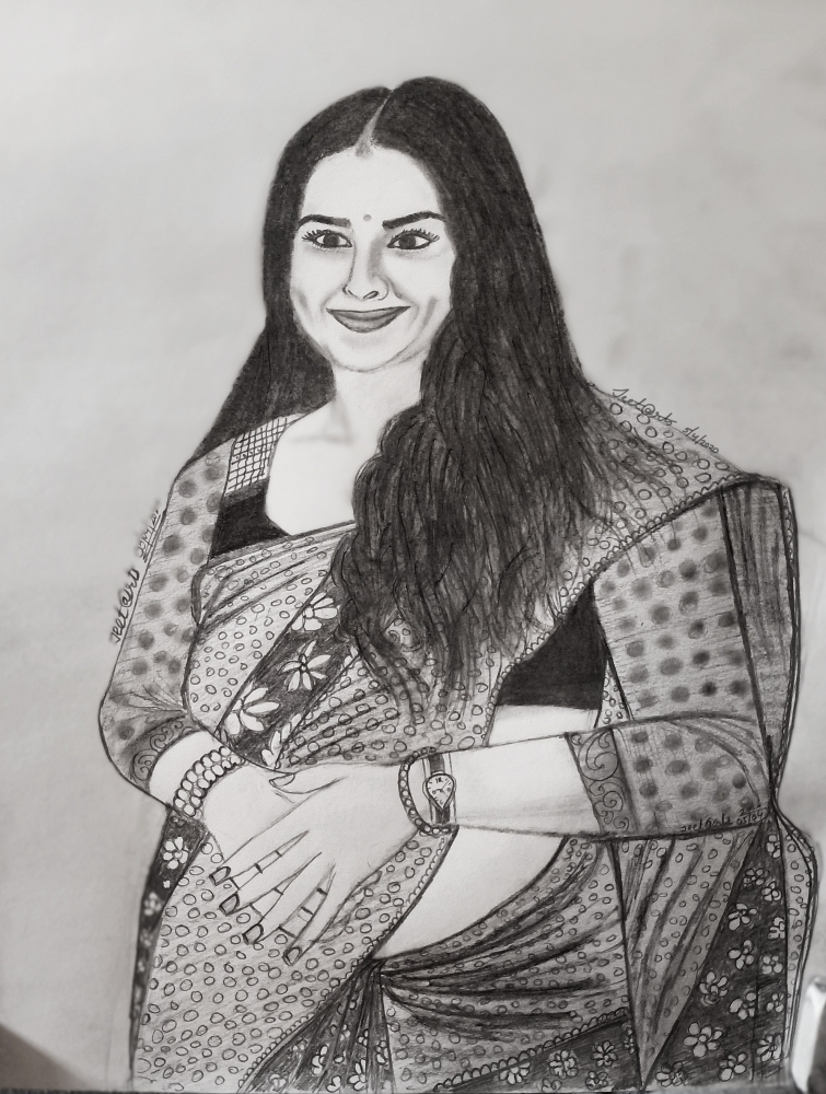 Vidya Balan by Jeet@rts